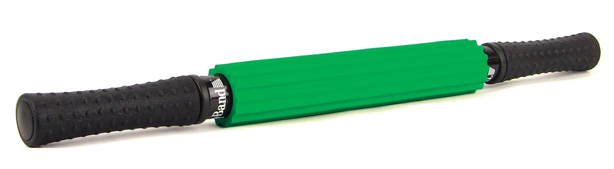 rolo de massagem verde