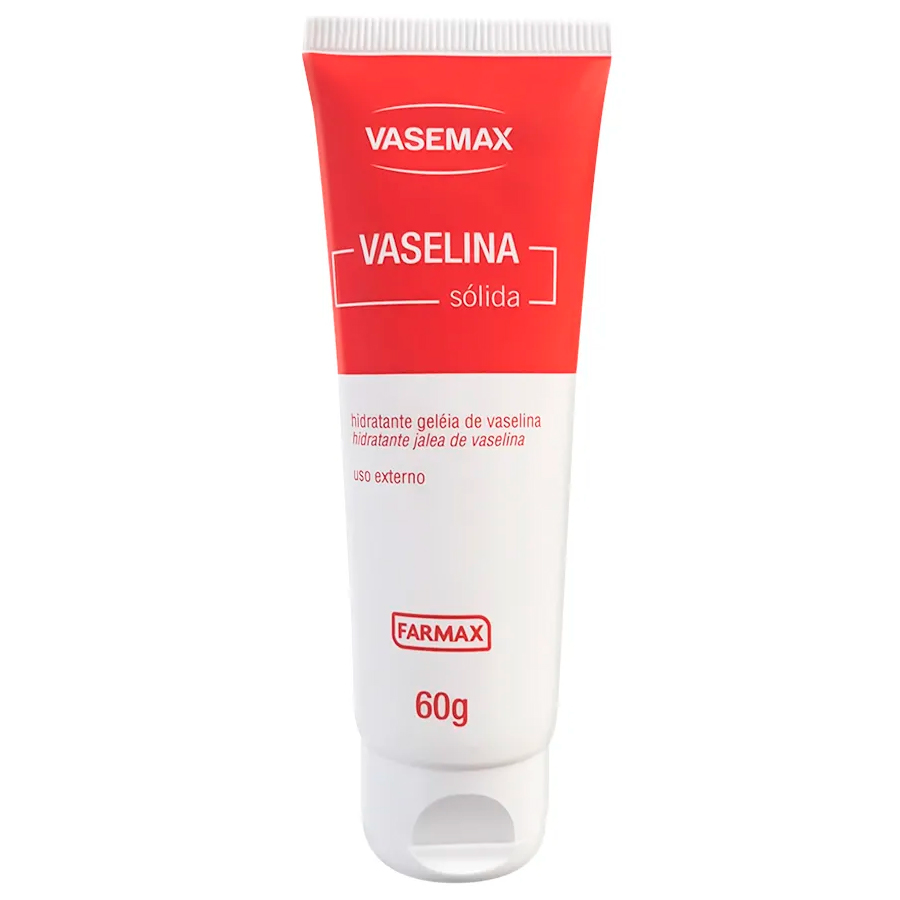 hidratante geleia de vaselina - vasemax 60 g