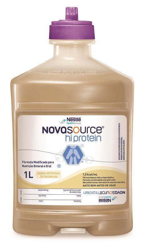 novasource hi protein 1000 ml sistema fechado