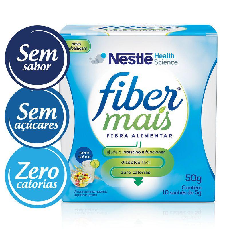 fiber mais sache 5 g sem sabor cx c, 10