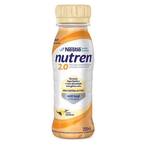 nutren 2.0 baunilha 200 ml