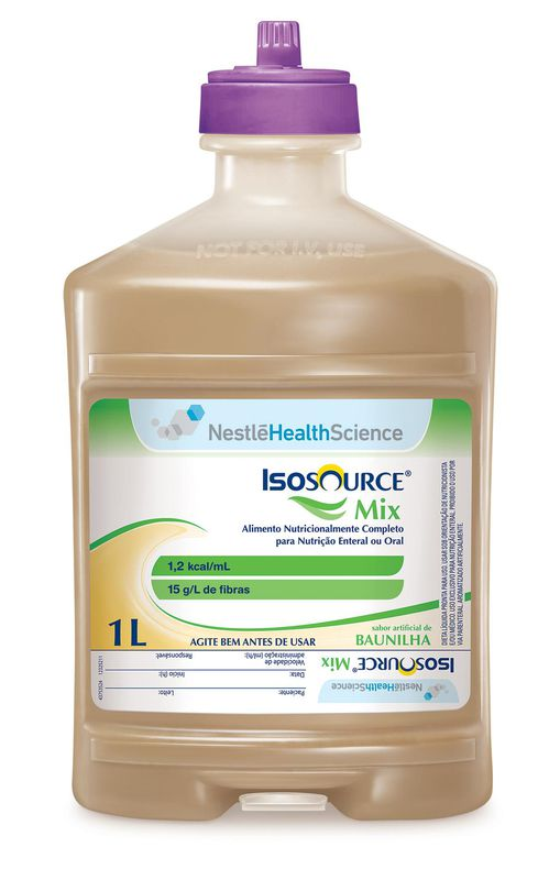 isosource mix 1000 ml sistema fechado