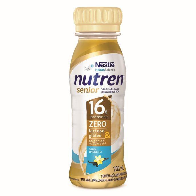 nutren senior baunilha 200 ml