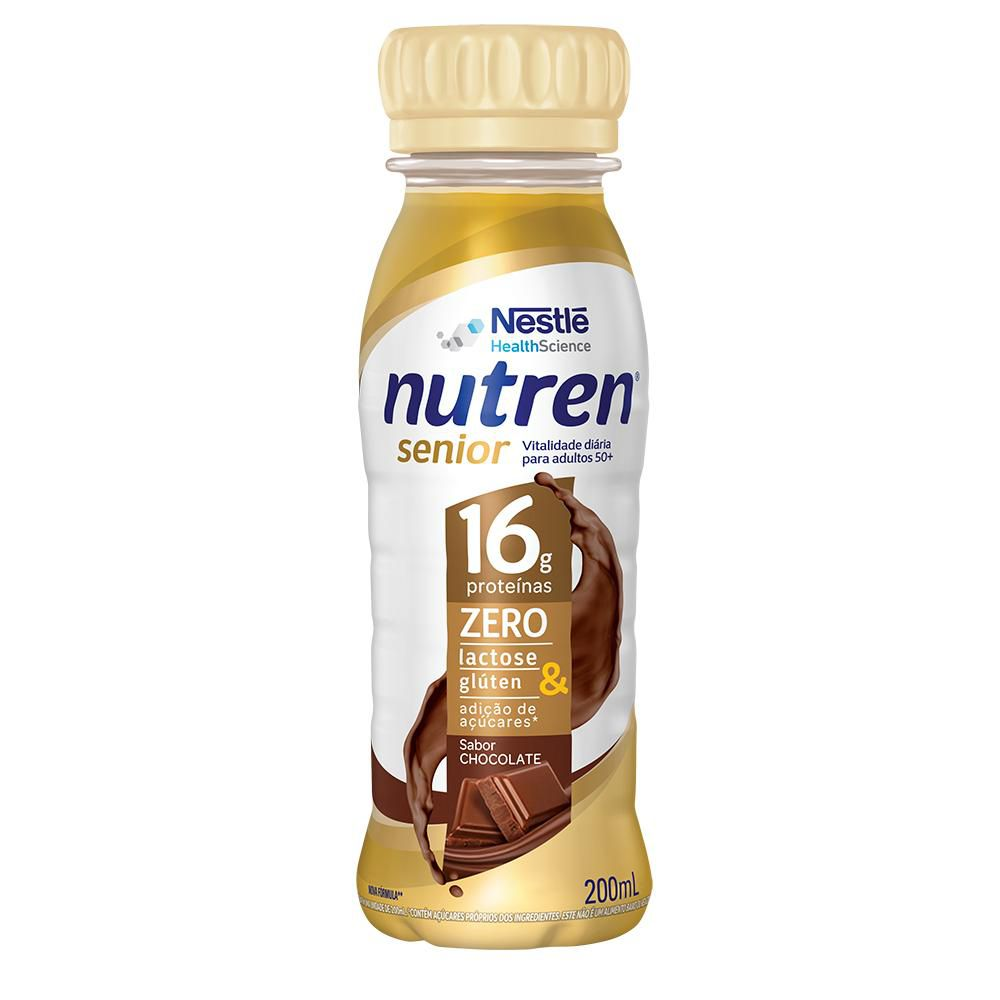 nutren senior chocolate 200 ml