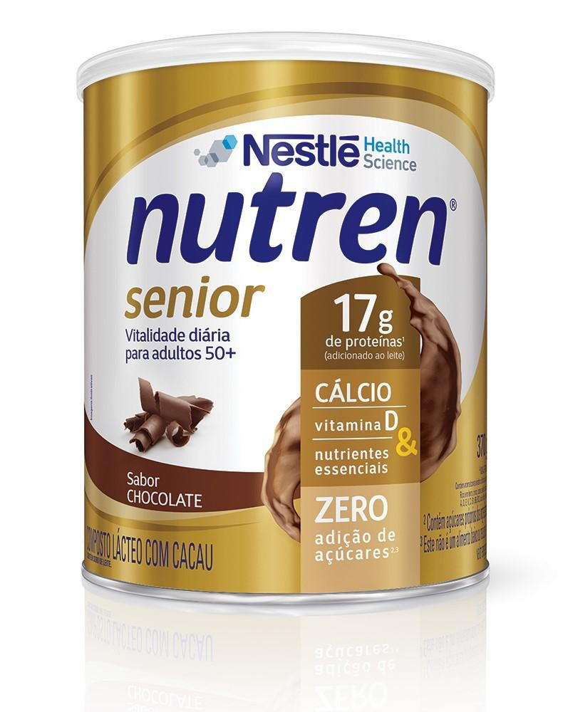 nutren senior pó chocolate 370 g