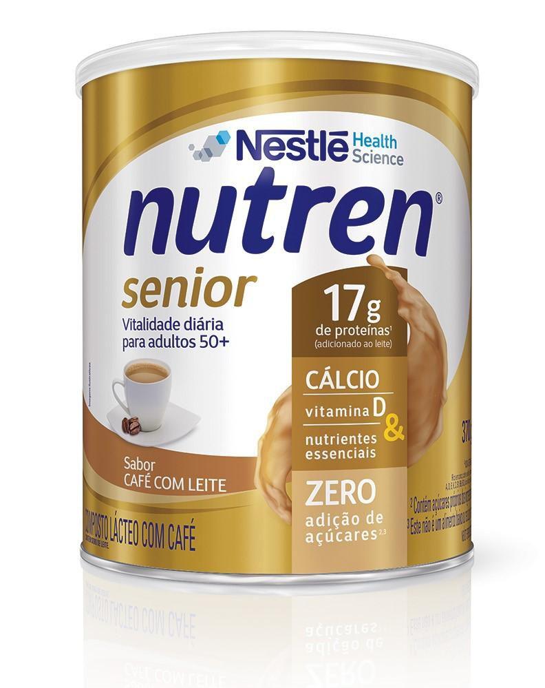 nutren senior pó café com leite 370 g