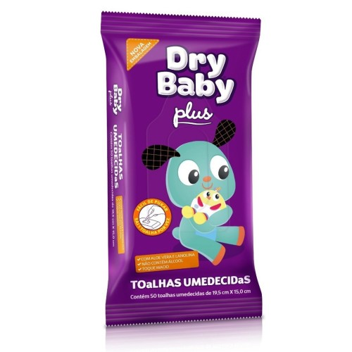 toalhas dry baby plus  pact c, 50