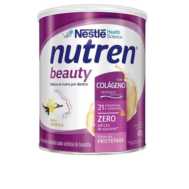 nutren beauty baunilha pó 400 g