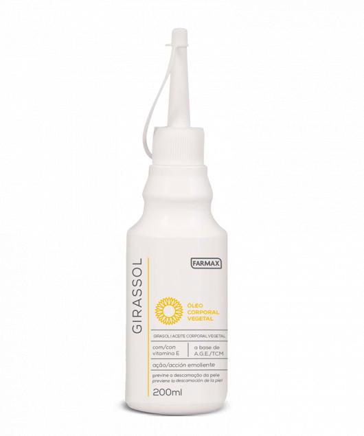 oleo corporal girassol farmax 200ml
