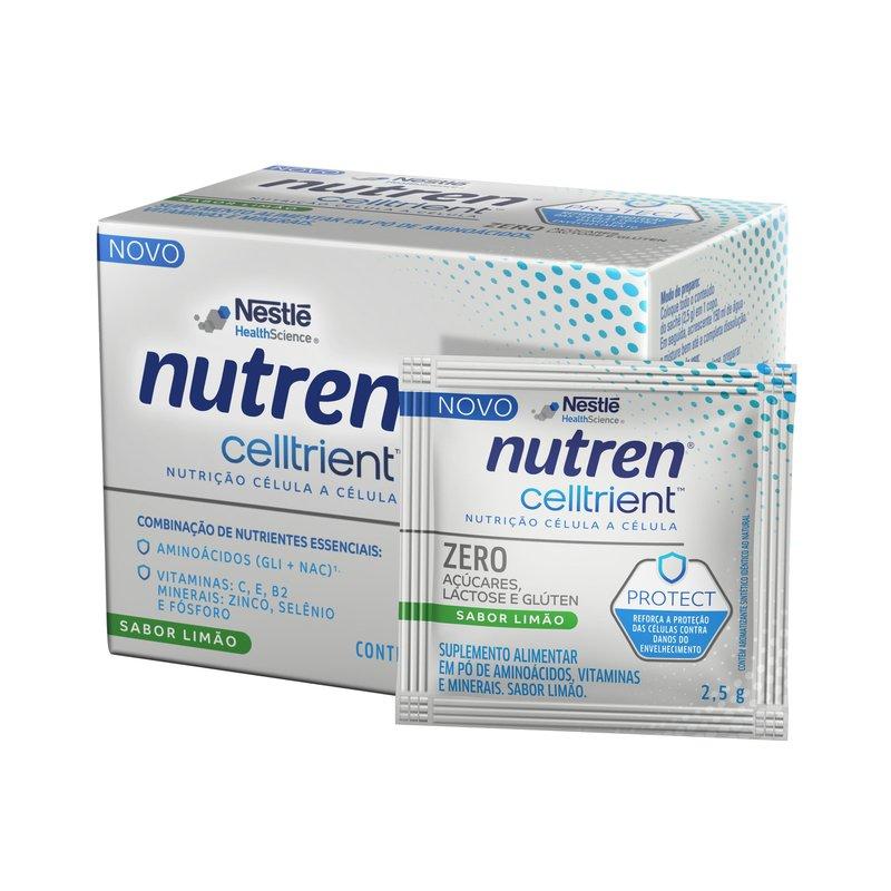 nutren celltrient protect limão 75g