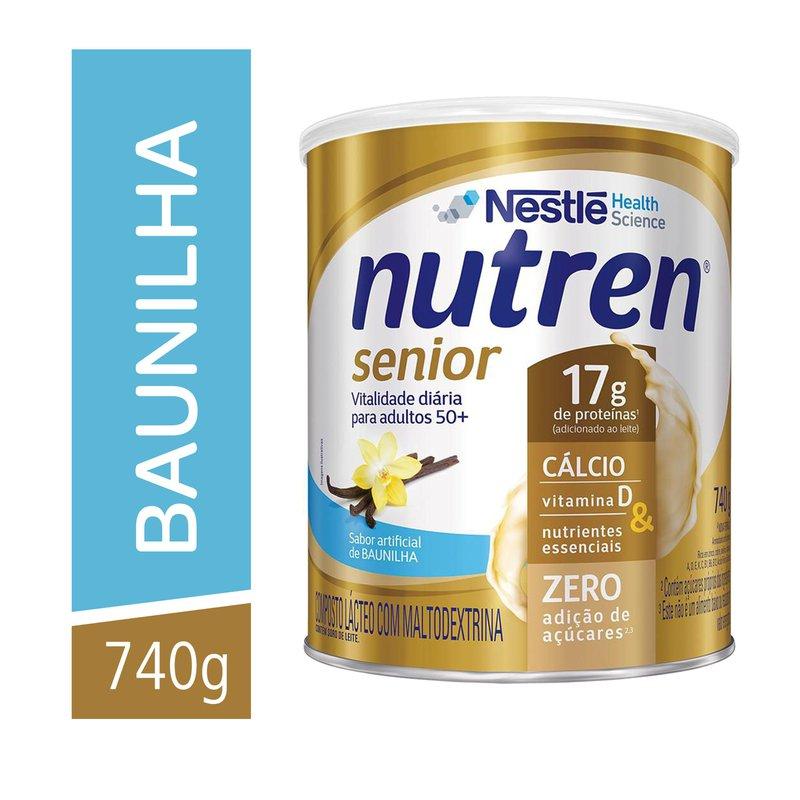 nutren senior pó baunilha 740 g